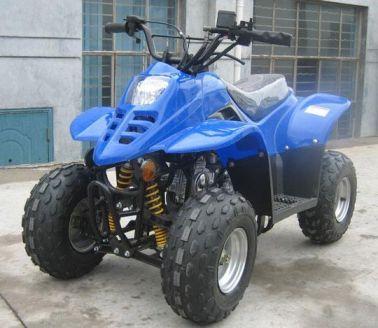 Blue Camo ATV